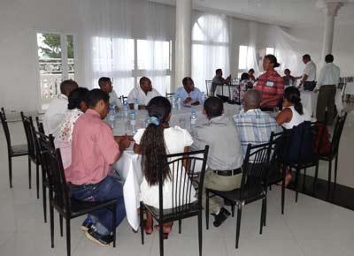 Les représentants des régions Atsinanana et Analanjorofo, ensemble pour effectuer leur planification régionale